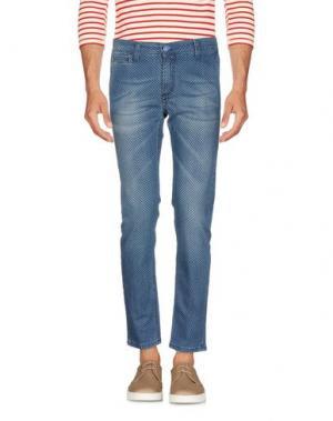 Джинсовые брюки VERDERA. Цвет: синий