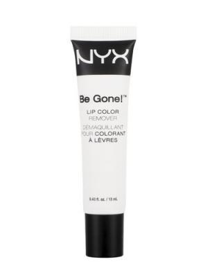Бальзам для снятия макияжа с губ BE GONE! LIP COLOR REMOVER 01 NYX PROFESSIONAL MAKEUP. Цвет: белый