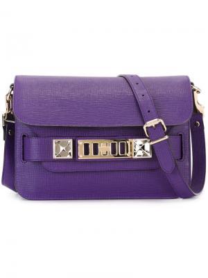 Мини сумка на плечо PS11 Proenza Schouler. Цвет: розовый и фиолетовый