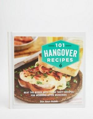 Books Книга похмельных рецептов 101 Hangover Recipes. Цвет: мульти