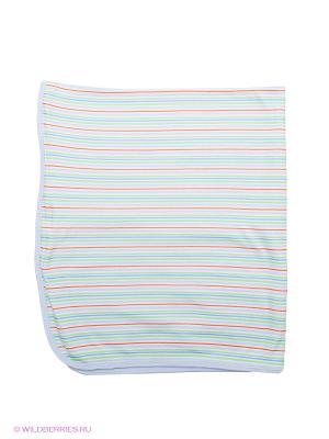 Одеяло Bon Bebe. Цвет: белый, голубой, зеленый
