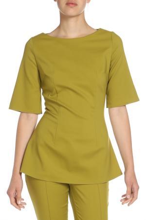 Блузка Ketroy. Цвет: зеленый