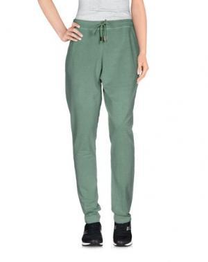 Повседневные брюки JIJIL. Цвет: светло-зеленый