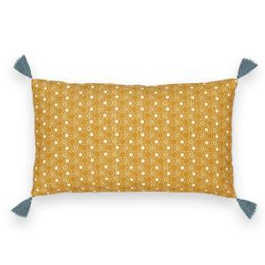 Чехол на подушку или наволочка, SHINTO La Redoute Interieurs. Цвет: желтый/ синий