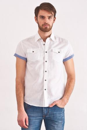 Рубашка LiberaVita. Цвет: белый