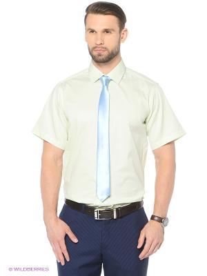 Рубашка KARFLORENS. Цвет: светло-зеленый