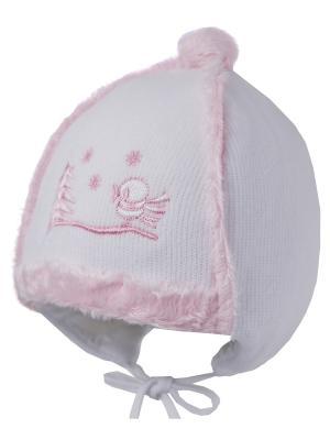 Шапка ILTOM. Цвет: белый, розовый