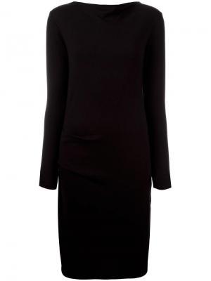 Платье Senzia By Malene Birger. Цвет: чёрный