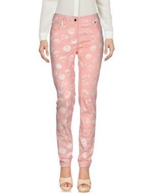 Повседневные брюки ROBERTA SCARPA. Цвет: розовый