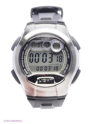 Часы Casio W-752-1A. Цвет: серебристый