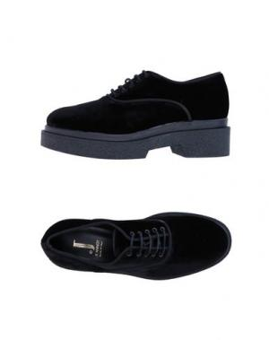 Обувь на шнурках JEANNOT. Цвет: черный