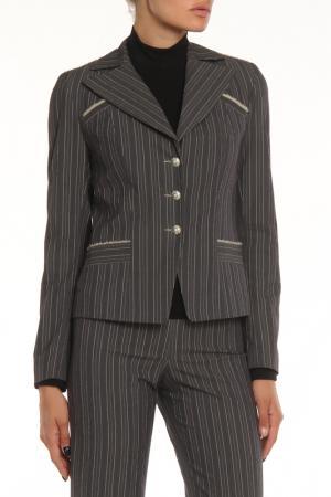 Пиджак MODART. Цвет: серый