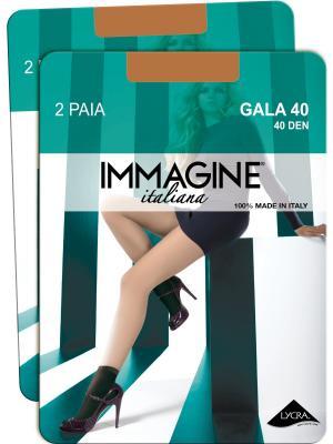Носки, 4 пары Immagine. Цвет: бежевый