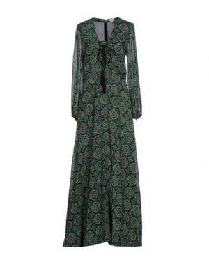 Длинное платье TALITHA. Цвет: цвет морской волны