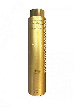 Золотой шампунь Miriam Quevedo. Цвет: золотой