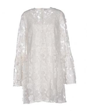 Короткое платье PERSEVERANCE. Цвет: белый