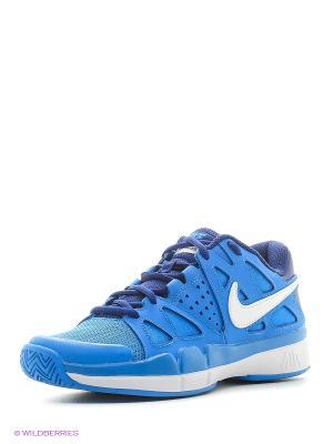 Кроссовки WMNS AIR VAPOR ADVANTAGE Nike. Цвет: голубой, темно-синий