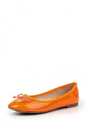 Балетки My&My. Цвет: оранжевый