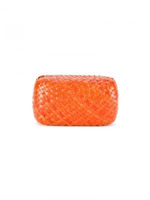 Плетеный чехол Serpui. Цвет: жёлтый и оранжевый