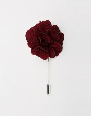 Red Eleven Булавка на лацкан пиджака цветок
