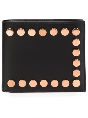 Бумажник с заклепками Givenchy. Цвет: чёрный