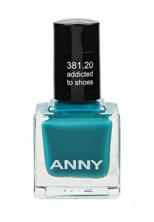Лак для ногтей Anny. Цвет: бирюзовый