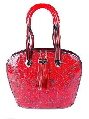 Сумка Valentino Orlandi. Цвет: красный