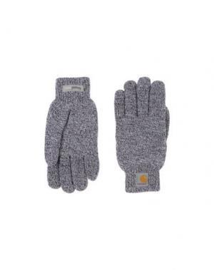 Перчатки CARHARTT. Цвет: баклажанный