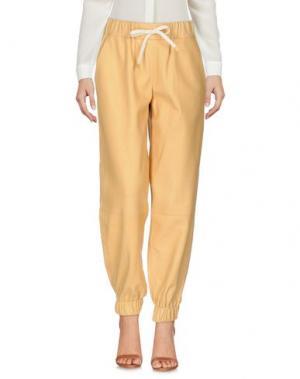 Повседневные брюки ÁERON. Цвет: песочный