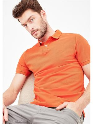 Футболка-поло S.OLIVER. Цвет: оранжевый