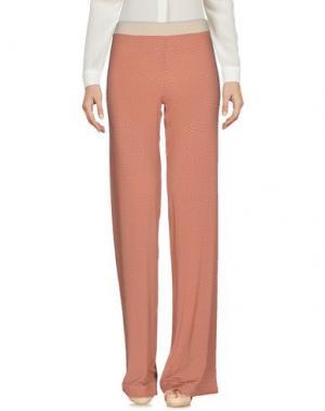 Повседневные брюки SIYU. Цвет: кирпично-красный