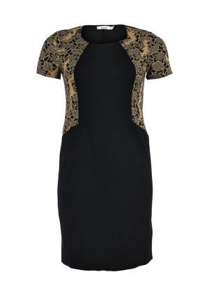 Платье Lina. Цвет: черный
