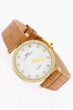 Часы IBSO. Цвет: золотой, бежевый