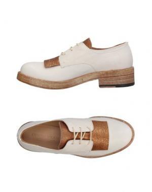 Обувь на шнурках ERNESTO DOLANI. Цвет: слоновая кость