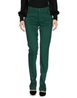 Повседневные брюки GANT. Цвет: зеленый