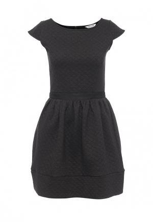 Платье Naf. Цвет: серый