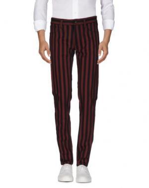 Джинсовые брюки DOLCE & GABBANA. Цвет: красно-коричневый
