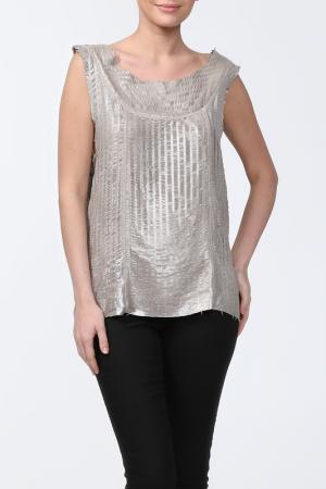 Блуза Drome. Цвет: серый