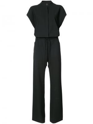 Tailored jumpsuit Zero + Maria Cornejo. Цвет: чёрный