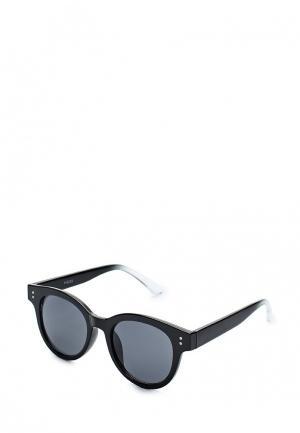 Очки солнцезащитные Pieces. Цвет: черный