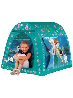 Палатка 105*98*90  см Холодное Сердце FRESH-TREND. Цвет: голубой