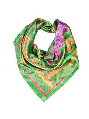 Платок шейный Модные истории. Цвет: зеленый