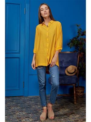 Блузка Nothing but Love. Цвет: желтый