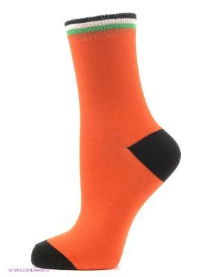 Носки Хох. Цвет: голубой, оранжевый, розовый