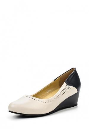 Туфли Ascalini. Цвет: бежевый