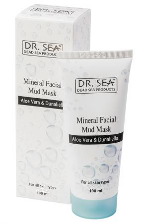 Грязевая маска для лица 100 мл DR.SEA. Цвет: none