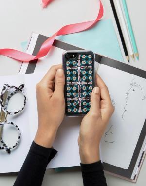 Zero Gravity Чехол для iPhone 7 с принтом. Цвет: мульти