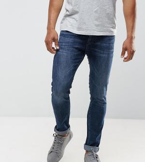 Just Junkies Темные джинсы скинни. Цвет: синий