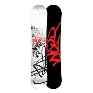 Сноуборд  What? Mac Cam Sidewall 157 Black/White/Red Lamar. Цвет: черный,красный,белый