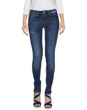 Джинсовые брюки BLAUER. Цвет: синий